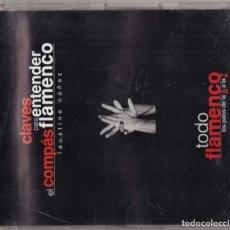 CDs de Música: CLAVES PARA ENTENDER EL COMPAS DEL FLAMENCO CD. Lote 243915570