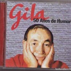 CDs de Música: GILA 50 AÑOS DE HUMOR CD. Lote 243915590