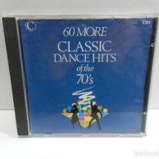 CDs de Música: DISCO CD. 60 MORE CLASSIC DANCE HITS OF THE 70'S CD1. COMPACT DISC.. Lote 243915645