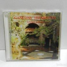 CDs de Música: DISCO CD. ANNA RICCI – CANÇONS SEFARTITES. COMPACT DISC.. Lote 243917240
