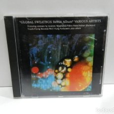 CDs de Música: DISCO CD. GLOBAL SWEATBOX REMIX ALBUM. COMPACT DISC.. Lote 243917590