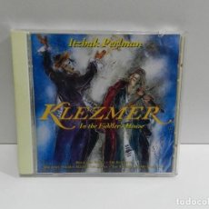 CDs de Música: DISCO CD. ITZHAK PERLMAN, VARIOUS ‎– KLEZMER IN THE FIDDLER'S HOUSE. COMPACT DISC.. Lote 243920520