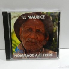 CDs de Música: DISCO CD. ILE MAURICE - HOMMAGE A TI FRERE. COMPACT DISC.. Lote 243920985