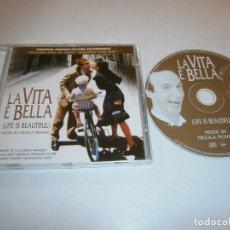 CDs de Musique: LA VITA E BELLA (LA VIDA ES BELLA) CD BSO. Lote 243921015