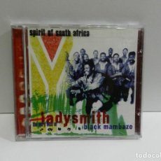 CDs de Música: DISCO CD. SPIRIT OF SOUTH AFRICA - THE VERY BEST OF LADYSMITH BLACK MAMBAZO. COMPACT DISC.. Lote 243921070
