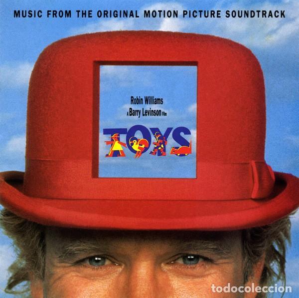 TOYS / HANS ZIMMER, ENYA, PAT METHENY... CD BSO (Música - CD's Bandas Sonoras)