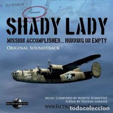 CDs de Música: SHADY LADY: MISSON ACCOMPLISHED... RUNNING OF EMPTY / MORITZ SCHMITTAT CD BSO. Lote 243924225
