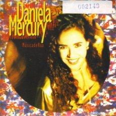 CDs de Música: DANIELA MERCURY - MUSICA DE RUA CD SINGLE 2 TEMAS. Lote 243925455
