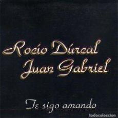 CDs de Música: ROCIO DURCAL Y JUAN GABRIEL - TE SIGO AMANDO CD SINGLE 1 TEMA. Lote 243925670