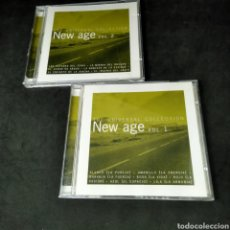 CDs de Música: CD DOBLE - THE UNIVERSAL COLLECTION - NEW AGE - VOLUMEN 1 Y 2 - 2000 - VARIOS. Lote 243928780
