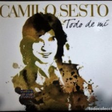 CDs de Música: CAMILO SESTO - TODO DE MI (2XCD + DVD) DEL AÑO 2010 MÉXICO (DIGIPACK MUY RARO). Lote 243930055