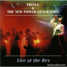 CDs de Música: 2 CD'S - PRINCE - LIVE AT THE REX - PARIS 1993. Lote 243943955