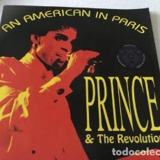 CDs de Música: CD - PRINCE - AN AMERICAN IN PARIS - LIVE 1986. Lote 243944115