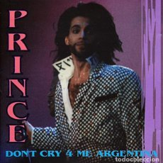 CDs de Música: CD PRINCE - DON'T CRY 4 ME ARGENTINA - BUENOS AIRES 1991. Lote 243944200
