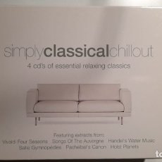 CDs de Música: SIMPLY CLASSICAL CHILLOUT. Lote 243990210