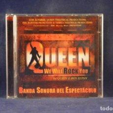 CD di Musica: ORIGINAL MADRID CAST - QUEEN WE WILL ROCK YOU (BANDA SONORA DEL ESPECTÁCULO) - 2 CD. Lote 243994740