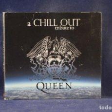 CDs de Música: VIRTUAL MUSIC & SERGI PÉREZ BERK - A CHILL OUT TRIBUTE TO QUEEN - CD. Lote 244004675