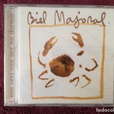 CDs de Música: BIEL MAJORAL - VOU VERI VOU PER NO DORMIR - CD PRECINTAT - MIQUEL BARCELO. Lote 244011095