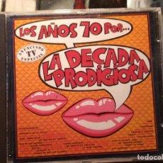 CDs de Música: CD DE LA DECADA PRODIGIOSA, LOS AÑOS 70. Lote 244016515