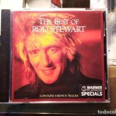 CDs de Música: CD DE ROD STEWART, THE BEST. Lote 244017535