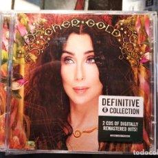CDs de Música: CD DOBLE DE CHER, GOLD, EDICIÒN DE LUJO.. Lote 244017975