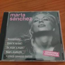 CDs de Música: CD MARTA SÁNCHEZ. DESESPERADA Y OTROS GRANDES ÉXITOS. OLÉ OLÉ. Lote 244018125