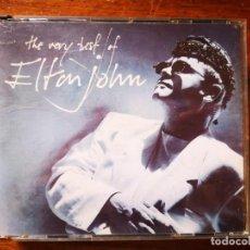 CDs de Música: DOBLE CD DE ELTON JOHN - THE BERY BEST OF - DOBLE CD EN BUENAS CONDICIONES. Lote 244019600
