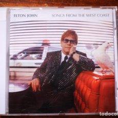 CDs de Música: CD DE ELTON JOHN - SONGS FROM THE WEST COAST - COMO NUEVO | MERCURY |. Lote 244019940