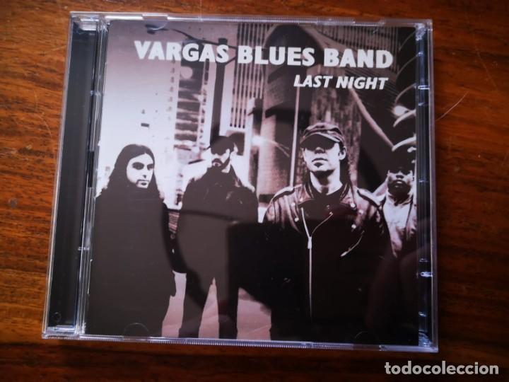 CD + DVD DE VARGAS BLUES BAND - LAST NIGHT - COMO NUEVO + DVD (Música - CD's Rock)
