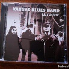 CDs de Música: CD + DVD DE VARGAS BLUES BAND - LAST NIGHT - COMO NUEVO + DVD. Lote 244021280