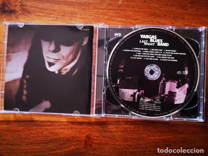 CDs de Música: CD + DVD DE VARGAS BLUES BAND - LAST NIGHT - COMO NUEVO + DVD - Foto 2 - 244021280