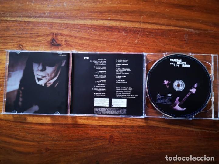 CDs de Música: CD + DVD DE VARGAS BLUES BAND - LAST NIGHT - COMO NUEVO + DVD - Foto 3 - 244021280