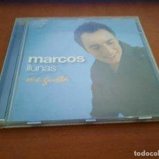 CDs de Música: MARCOS LLUNAS. ME GUSTA. CD EN BUEN ESTADO CON 12 TEMAS. Lote 244026945