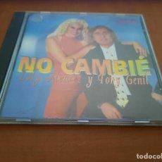 CDs de Música: LOLY ALVAREZ Y TONY GENIAL. NO CAMBIÉ. CD EN BUEN ESTADO CON 11 TEMAS.. Lote 244027210