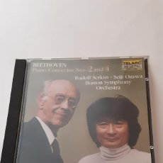 CDs de Musique: BEETHOVEN: PIANO CONCERTOS NOS. 2 AND 4 - SERKIN/BOSTON SYMPHONY ORCHESTRA. Lote 244169760