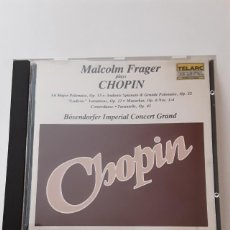 CDs de Musique: MALCOLM FRAGER PLAYS FREDERIC CHOPIN: BOSENDORFER IMPERIAL CONCERT GRAND. Lote 244175885