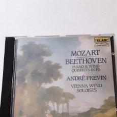 CDs de Musique: MOZART & BEETHOVEN: PIANO & WIND QUINTETS. Lote 244180015