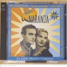 CDs de Música: SU MEDIA NARANJA - 2 CD'S 1995 (CAMILO SESTO, CECILIA, ROCIO JURADO, MOCEDADES, ISABEL PANTOJA..). Lote 244196765