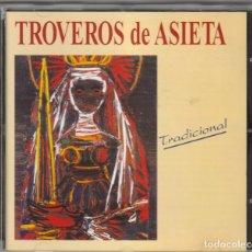 CDs de Música: TROVEROS DE ASIETA - TRADICIONAL (CD CCPC 1994). Lote 244198095