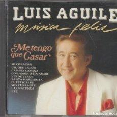 CD de Música: LUIS AGUILÉ CD MÚSICA FELIZ 1990 DIVUCSA. Lote 244400650