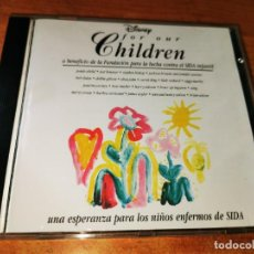 CDs de Música: DISNEY FOR OUR CHILDREN CD 1991 ESPAÑA PAUL MCCARTNEY STING ELTON JOHN BRUCE SPRINGSTEEN 20 TEMAS. Lote 244415790