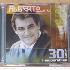 CDs de Música: ALBERTO CORTEZ (GRANDES EXITOS INSUPERABLES) 2 CD'S 2003. Lote 244418950
