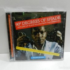 CDs de Música: DISCO 2 X CD. 90° DEGREES OF SHADE (HOT JUMP-UP ISLAND SOUNDS FROM THE CARIBBEAN). COMPACT DISC.. Lote 244438575