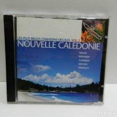 CDs de Música: DISCO CD. LES PLUS BELLES CHANSONS DES ILES VOL.2 NOUVELLE CALEDONIE. COMPACT DISC.. Lote 244441150