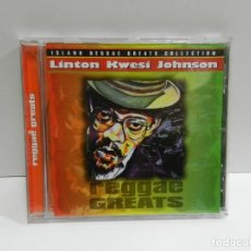 CDs de Música: DISCO CD. LINTON KWESI JOHNSON ‎– REGGAE GREATS. COMPACT DISC.. Lote 244441805