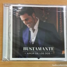 CDs de Música: CD DE DAVID BUSTAMANTE - AMOR DE LOS DOS. UNIVERSAL MUSIC, 2016. PRECINTADO. Lote 244442455