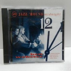 CDs de Música: DISCO CD. BEN WEBSTERN - JAZZ 'ROUND MIDNIGHT. COMPACT DISC.. Lote 244443230