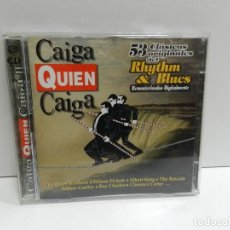 CDs de Música: DISCO 2 X CD. CAIGA QUIEN CAIGA - 53 CLÁSICOS ORIGINALES DEL RHYTHM & BLUES. COMPACT DISC.. Lote 244443765