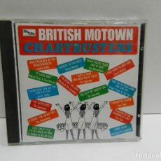 CDs de Música: DISCO CD. BRITISH MOTOWN CHARTBUSTERS. COMPACT DISC.. Lote 244444320