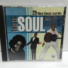 CDs de Música: DISCO CD. THIS IS SOUL, VOL. 2. COMPACT DISC.. Lote 244444570